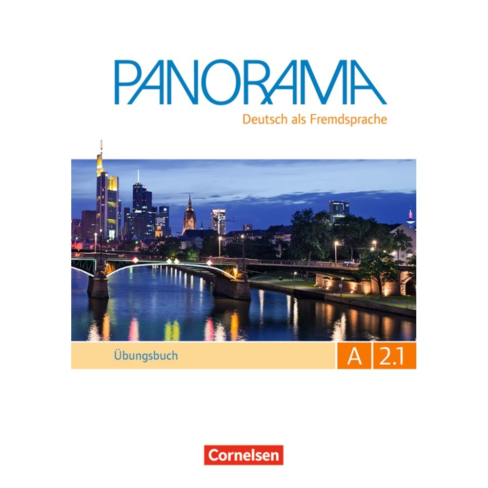PANORAMA A2.1 ÜBUNGSBUCH TEILBAND MIT CD