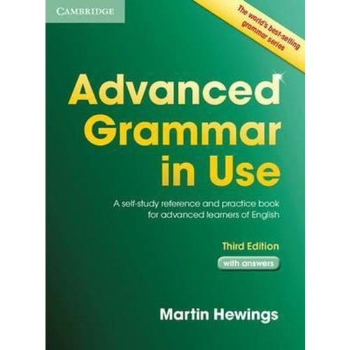 ADVANCED GRAMMAR IN USE WITH ANSWERS 3RD EDITION AGU